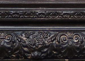 detalhes da moldura antes