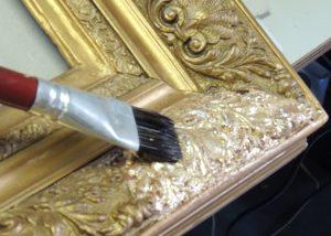 douração moldura ouro 2