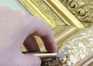 douração moldura ouro 3